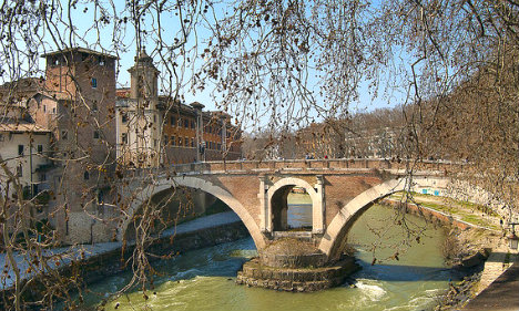 Body of missing American student found in Rome's Tiber