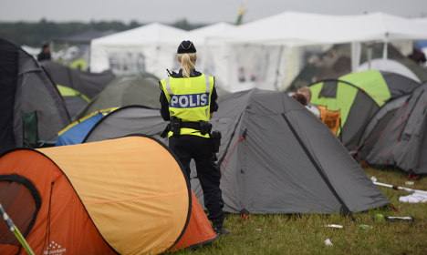 Fury over rape reports at Swedish music festivals