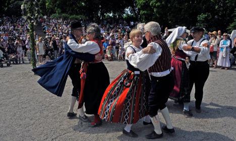 Swedish nationalists' solution for suburbs? Folk dancers