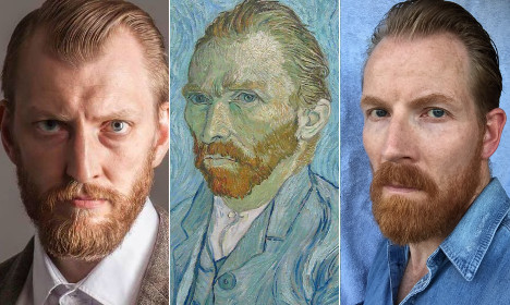 Which of these two Swedes is Vincent van Gogh's lost twin?
