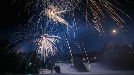 Take care around fireworks, Swiss told