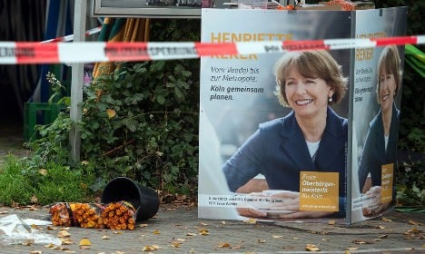 Man who stabbed Cologne mayor gets 14 years jail
