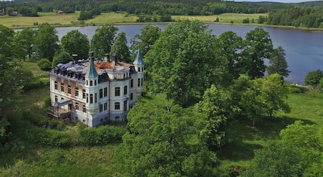 This castle: yours for the price of a tiny flat