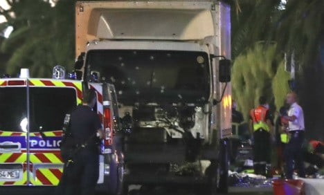 Five suspects held over Nice attack to appear in court