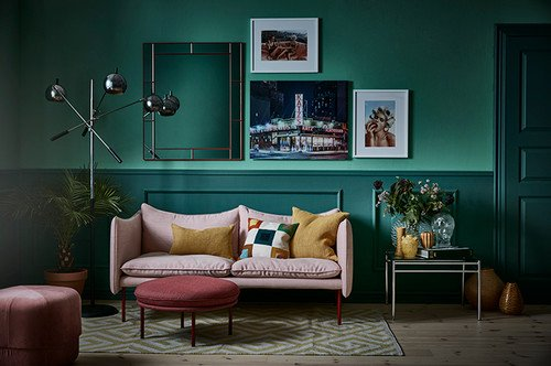 In pictures: Are Swedes falling in love with colour at last?