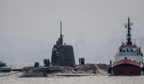 Spain seeks 'urgent' answers over Gib nuclear sub collision
