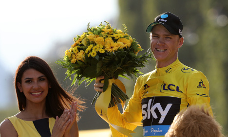 Five key moments in Chris Froome' Tour de France win