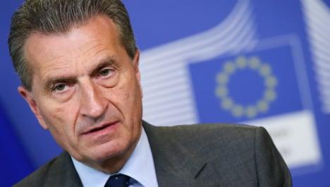 German EU executive wants fines for Spain, Portugal