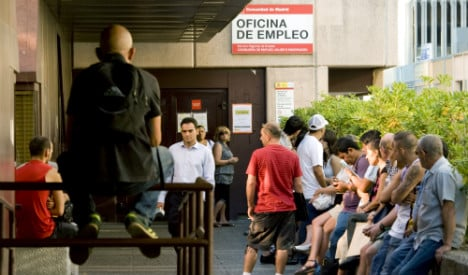 Spain's unemployment figures drop to 7-year low in June