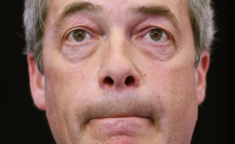 Germany derides 'disgraceful' Farage after resignation