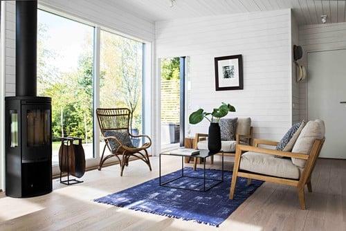 In pictures: Scandinavian elegance in 40 square metres