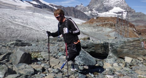 Amputee's Swiss trek 'makes it more possible' for others