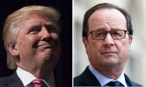 Hollande on Donald Trump: 'He makes you want to retch'