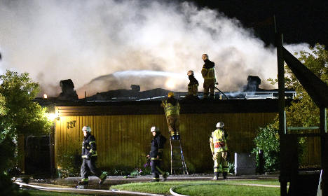 Woman feared dead after spate of fires in Sweden