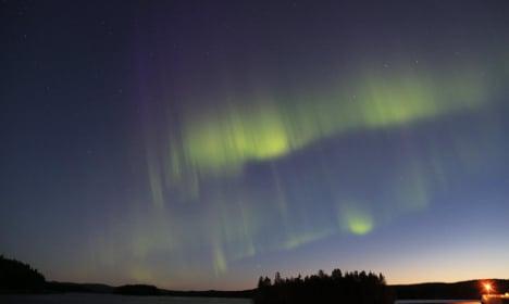 Swede films spectacular Northern Lights show
