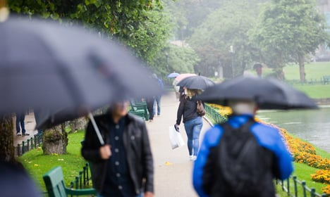 Rain and records continue to fall in Bergen