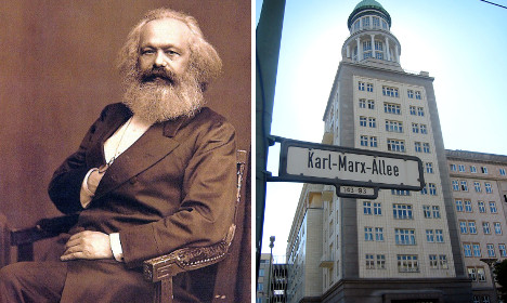 Merkel's party mate wants to get rid of all Karl Marx streets