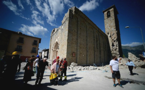 Italy's museums offer takings to restore quake-hit region