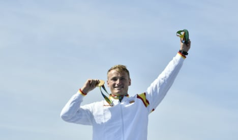 Spain's Olympic kayak hero only just became 'Spanish'