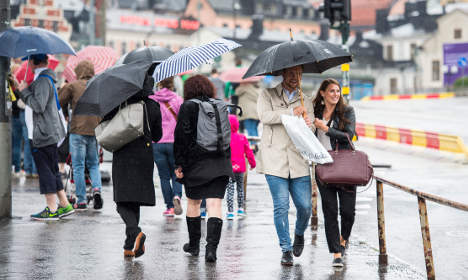 Brace yourselves: autumn has officially arrived in Sweden