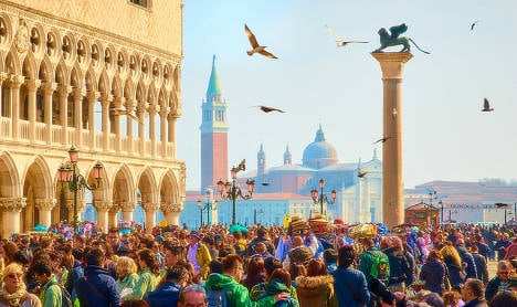 Venice and the perennial woe of unruly tourists