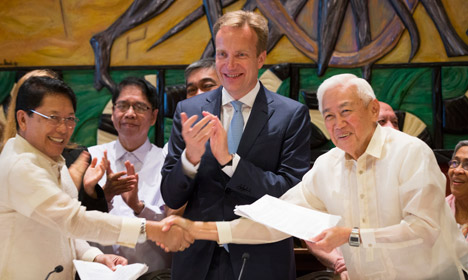 Philippine ceasefire deal reached in Norway