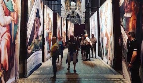 A taste of Michelangelo in the heart of Vienna
