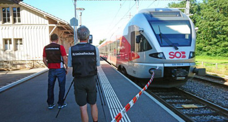 Experts debate rail security following Swiss train attack