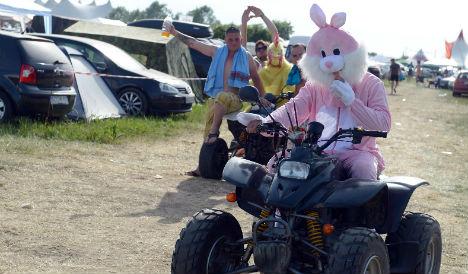 K-Town teen in bunny suit raises police alarm