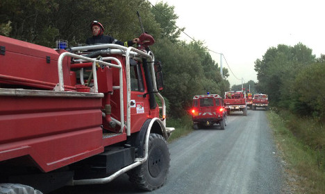Fire on French tourist island sees 1,500 evacuated