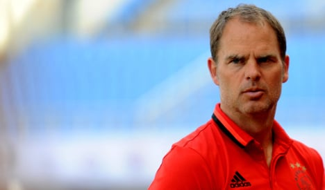 Dutchman Frank de Boer is new Inter Milan coach: club
