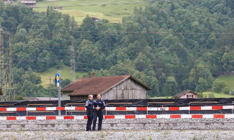 Swiss knifeman and victim die: police