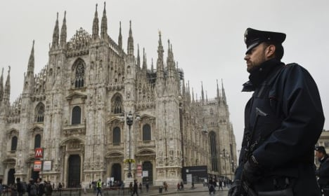 Milan Duomo ups security after tourist spends the night