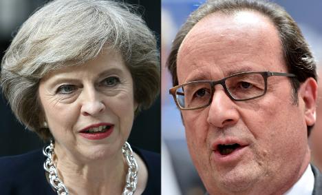Brexit: You've got till 2019 Hollande warns UK