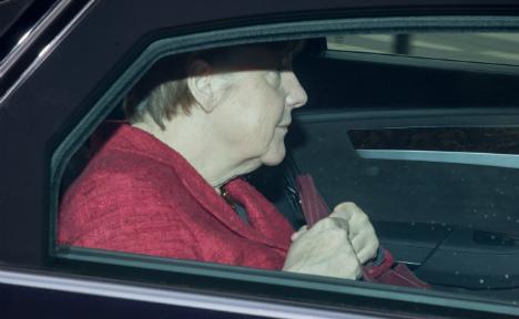 Czech police detain driver for harassing Merkel's motorcade