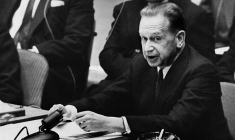 Was there a secret plot to kill Swedish ex-UN chief?
