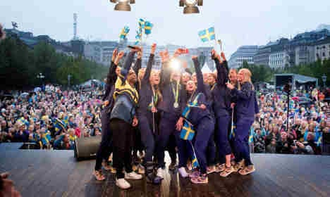 The ten best pictures of Sweden's Olympic stars