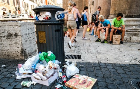Rome wants to send its rubbish to Austria