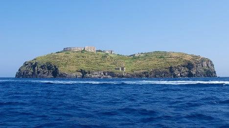 Italy prison island, birthplace of European dream