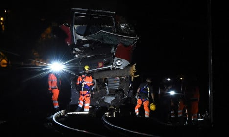 Eight seriously injured in southern France train crash