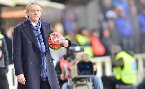 Inter Milan coach Roberto Mancini is leaving: club