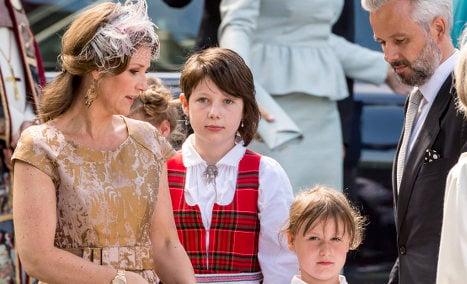Norway's angel princess divorces novelist husband