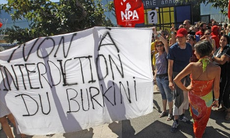 French anti-burqini law would create 'irreparable tension'