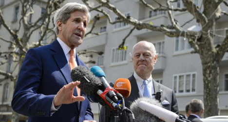 US and Russia meet in Geneva for Syria talks