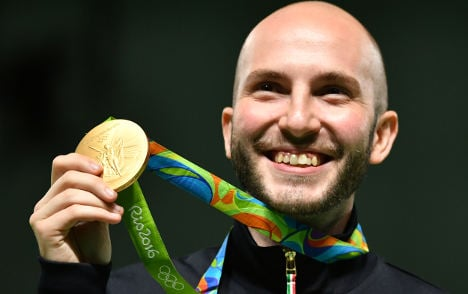 Italy claims another gold medal at Rio Olympics