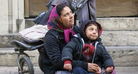 Romanian faces €38,000 fine for begging in Austria