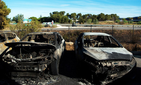 Fears of more blazes after French bushfires tamed