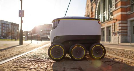 Swiss Post trials robot parcel deliveries in Bern