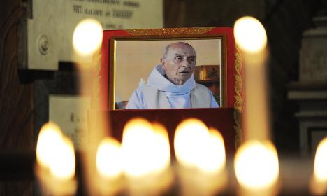 Priest killer jihadist buried in France