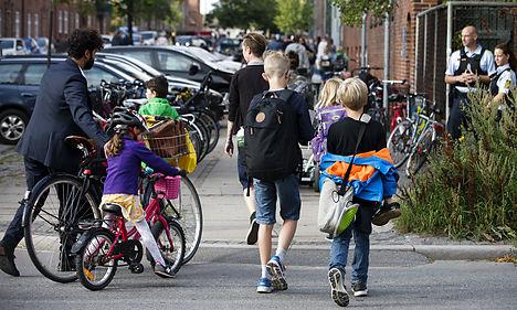 Danish schools welcome thousands of refugee students